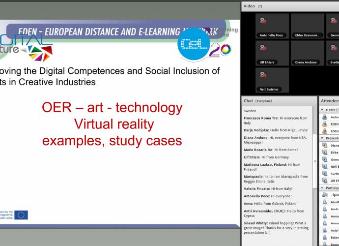 OEW – Digital Culture – Erasmus+ European Project